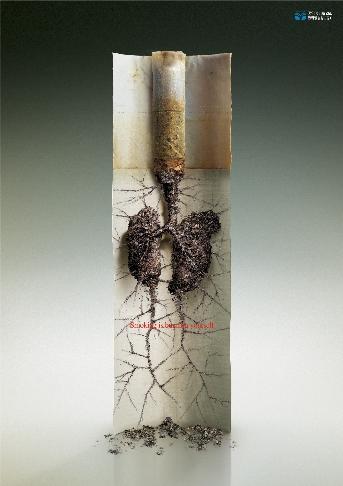 금연캠페인 포스터