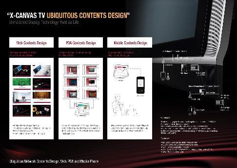 X-CANVAS Digital TV 유비쿼터스컨텐츠디자인
